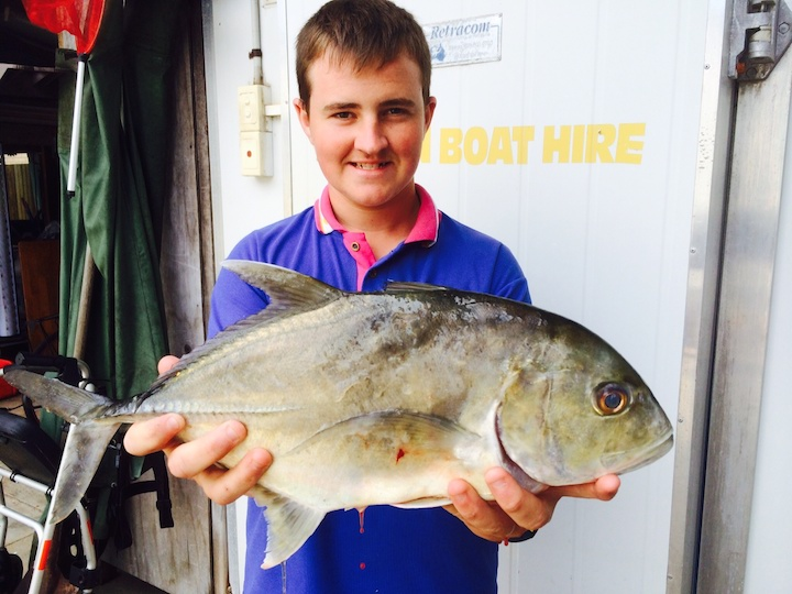 Bailey Watts 1.75Kg Giant Trevally Atomic Vib 50