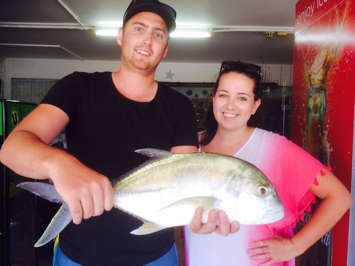 Jack Emily Greenhorn Trevally Flathead Bream