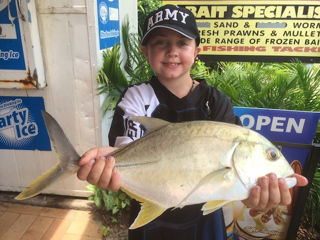 Jarvis Giant Trevally Maroochy River
