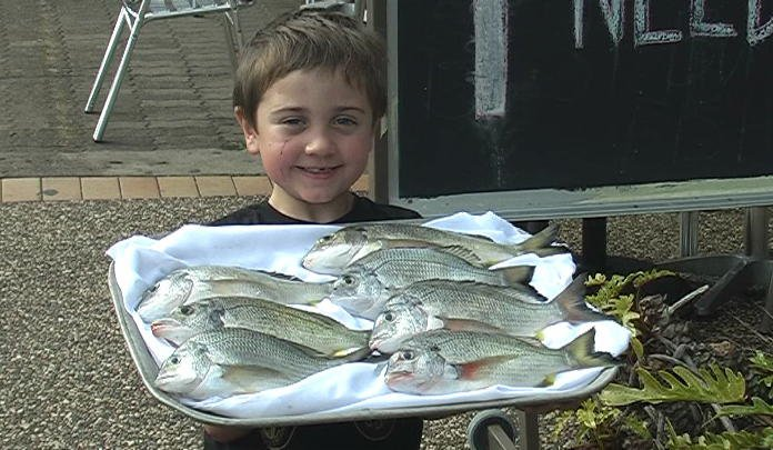 Jarvis first catches bream