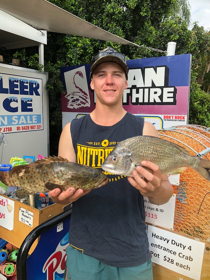 Daniel Vogler Bream Cod Lower Maroochy