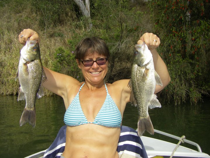Alison McDonald 2bass Mary River