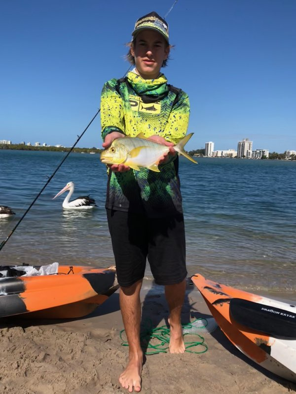 Cameron Sutherland Golden Trevally Picnic Point