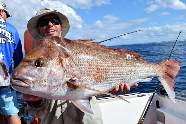 Rainbow Escape Snapper 98cm