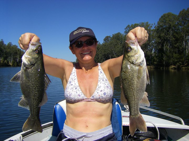 Alison Macdonald Bass in Mary River